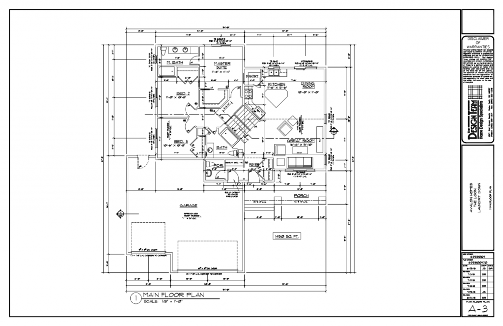 Loon Basement Level Floorplan